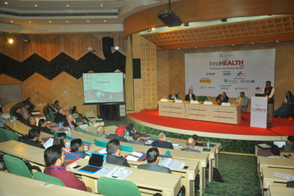 Gallery page - Inaugural Session in progress at InnoHEALTH 2016