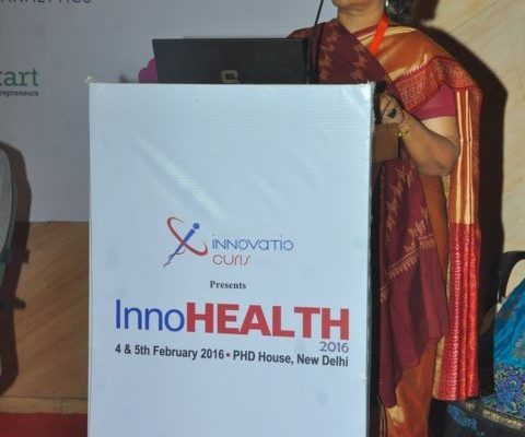 Gallery page - Prof Suman Kapur at InnoHEALTH 2016