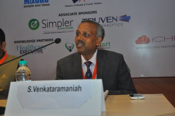 Gallery page - S Venkarataramaniah at InnoHEALTH 2016