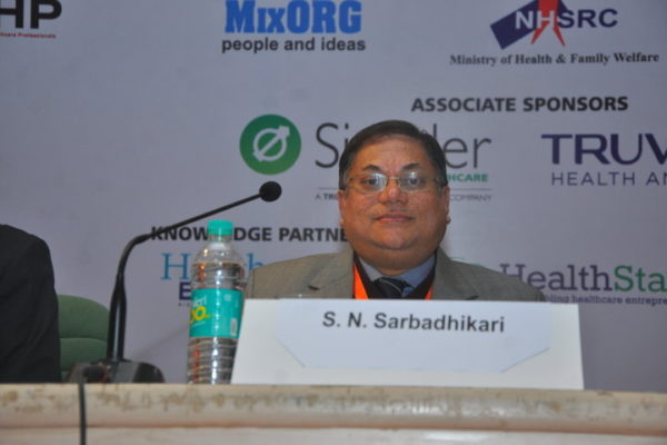 Gallery page - S.N Sarbadhikari at InnoHEALTH 2016