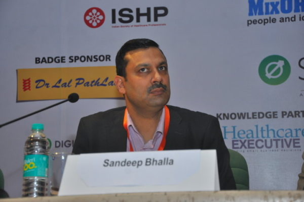 Gallery page - Sandeep Bhalla at InnoHEALTH 2016