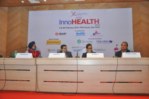 Gallery page - Session on - Startup Opportunities & Challenges - in progress at InnoHEALTH 2016