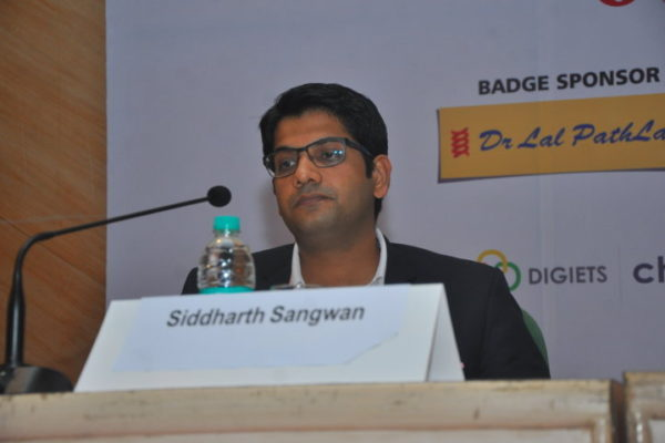 Gallery page - Siddharth Sangwan at InnoHEALTH 2016