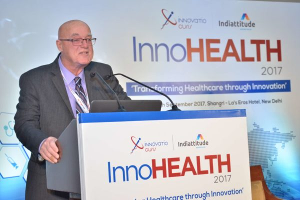 Ronald Heslegrave keynote address in session 6 at InnoHEALTH 2017