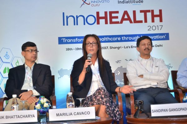 Panel discussion on Digital Health giving birth to new delivery models and fostering innovations in progress at InnoHEALTH 2017