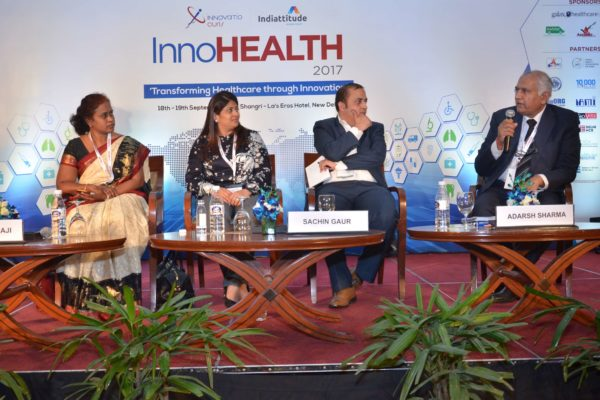 Session 9 in progress at InnoHEALTH 2017