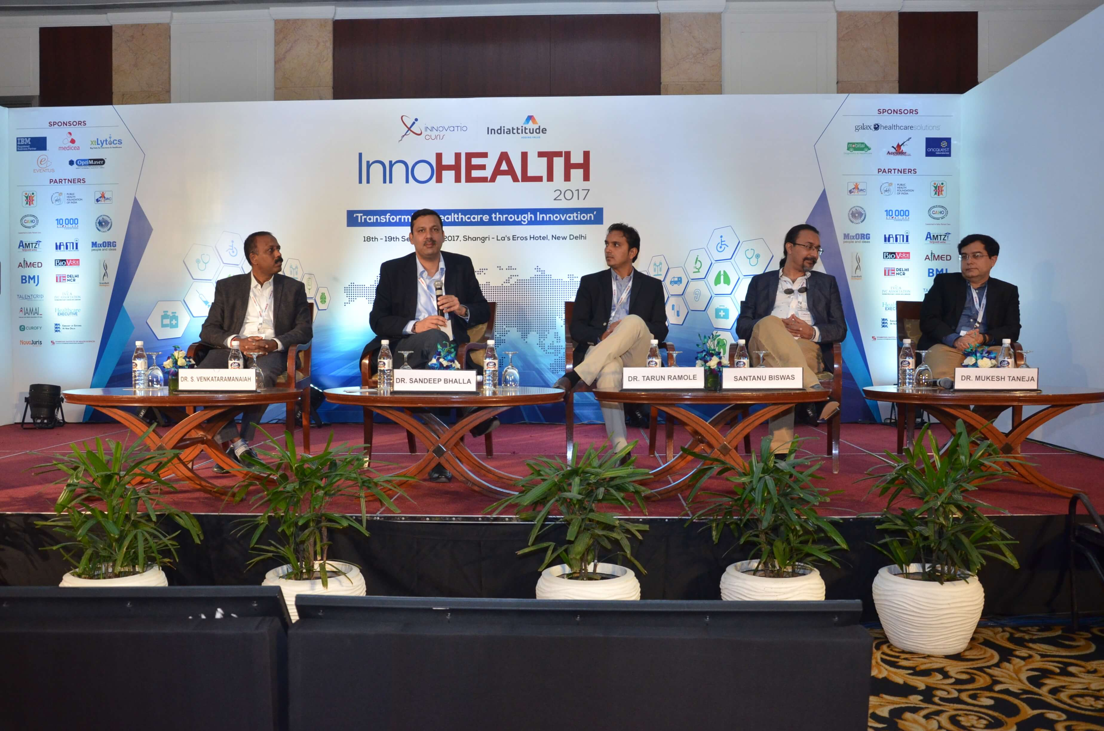 Panel of session 5 at InnoHEALTH 2017