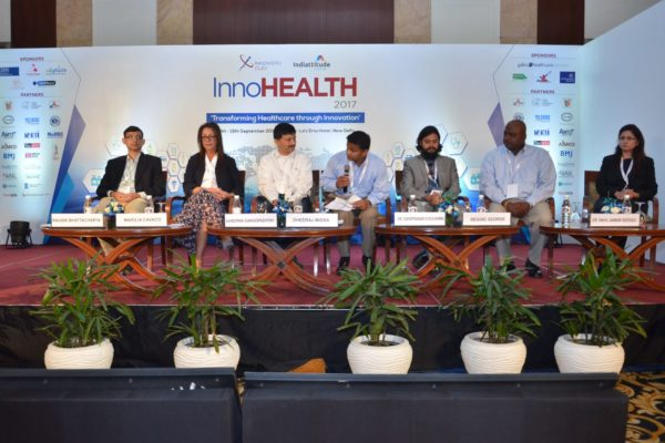 Panel of session 7 at InnoHEALTH 2017