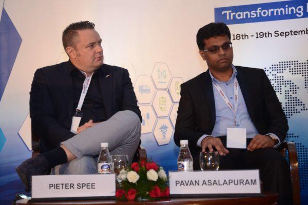 Pieter Spee and Pavan Asalapuram - Panellists of session 2 at InnoHEALTH 2017