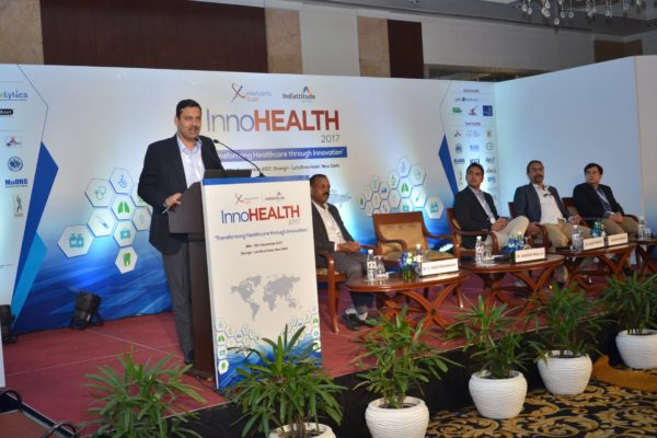Session 5 of InnoHEALTH 2017 in progress