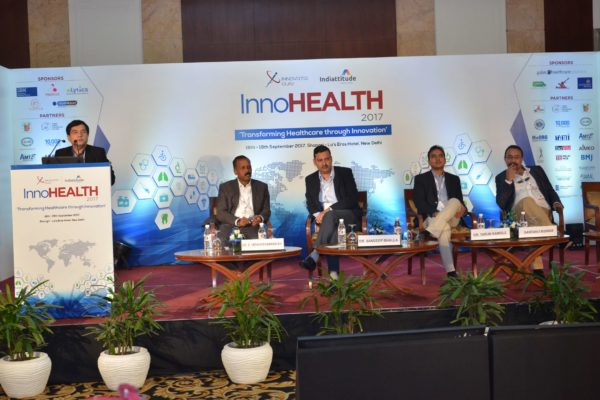Session 5 in progress at InnoHEALTH 2017
