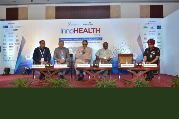 Panellists of session 4 at InnoHEALTH 2017