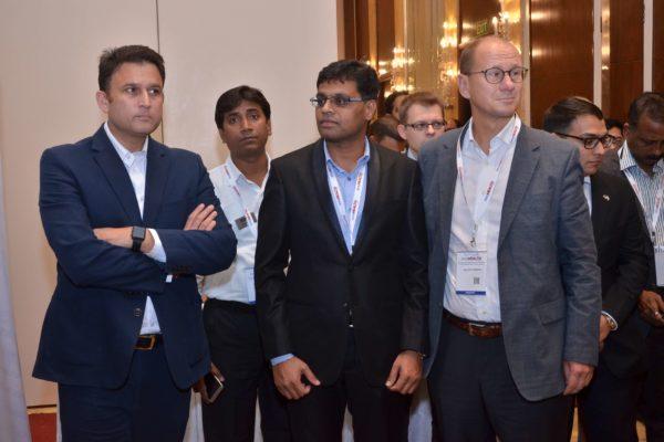 Amit Saroj, Pavan Asalapuram and Jan Erik at B2B meeting of InnoHEALTH 2017