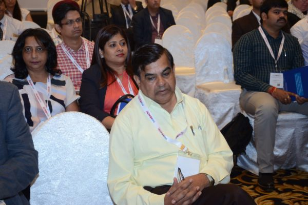 Dr Vinod Nikhra in the audience at InnoHEALTH 2017