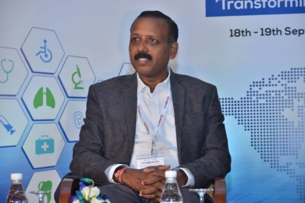 Dr S Venkataramanaih - Panellist of session 5 at InnoHEALTH 2017