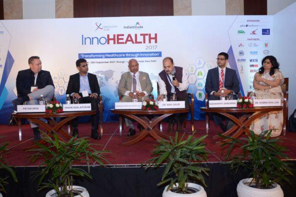 Session 2 panel at InnoHEALTH 2017