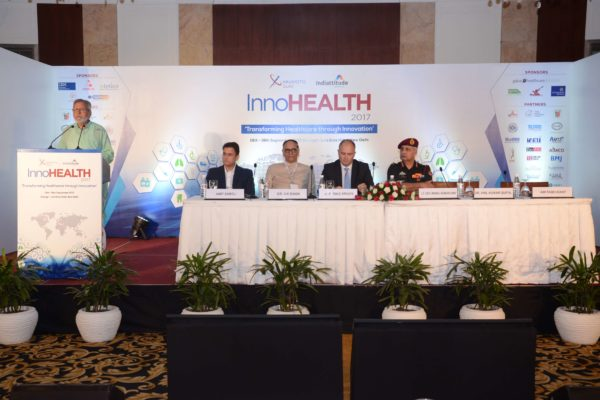 Inaugural session in progress at InnoHEALTH 2017