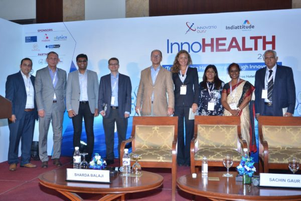 European Union delegates at expert session at InnoHEALTH 2017