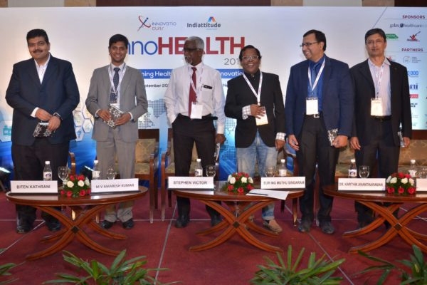 Session 3 group photo at InnoHEALTH 2017