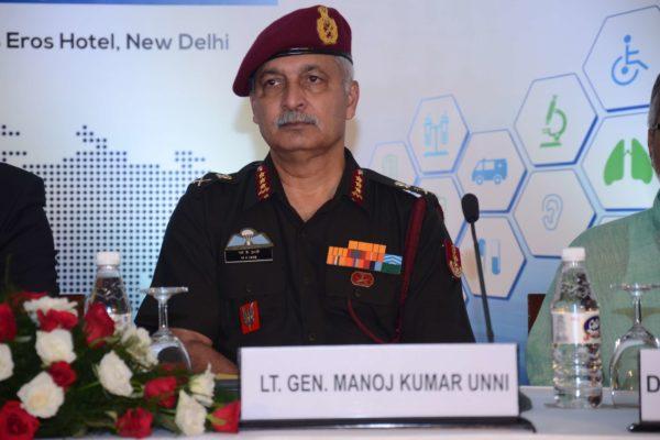 Lt Gen Manoj Kumar Unni - Inaugural speaker at InnoHEALTH 2017