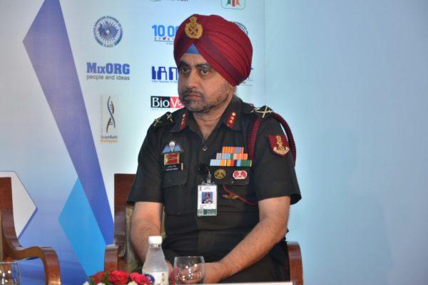 Maj Gen Jagtar Singh in sesison 4 at InnoHEALTH 2017
