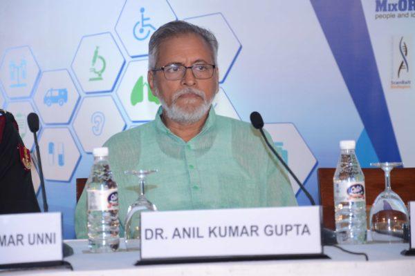 Dr Anil Kumar Gupta - Inaugural speaker at InnoHEALTH 2017