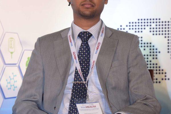 Amaresh Kumar - Panellist of session 3 at InnoHEALTH 2017