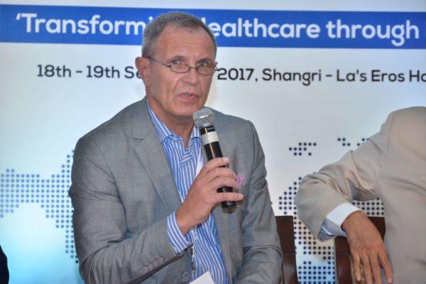 Dr Jaanus Pikani sharing his views on Public Health and Biotech at InnoHEALTH 2017