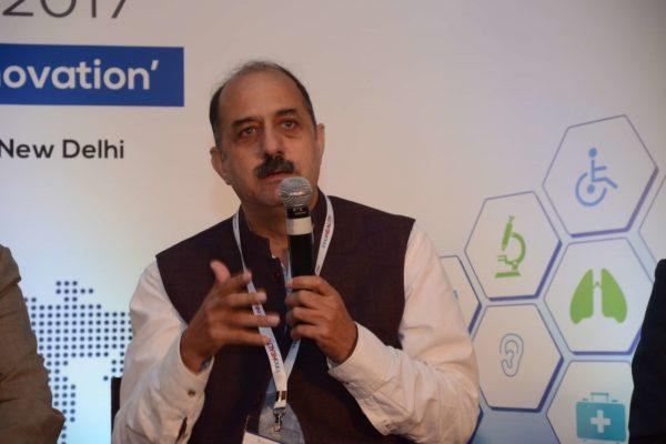 Dr Ravi Gaur - Moderator of session 2 at InnoHEALTTH 2017