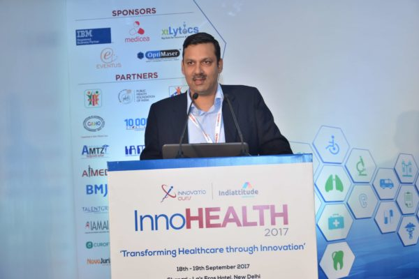 Dr Sandeep Bhalla - Moderator of session 5 at InnoHEALTH 2017