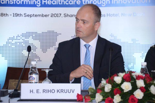 His Excellency Riho Kruuv - Inaugural speaker at InnoHEALTH 2017