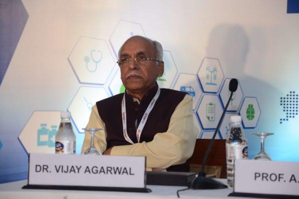 Session 1 speaker Dr Vijay Agarwal at InnoHEALTH 2017