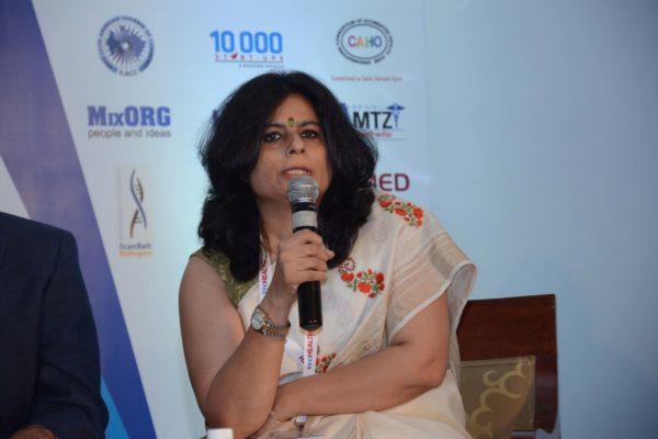 Dr Kamini Khillan sharing her views on Diagnostics of Tomorrow at InnoHEALTH 2017