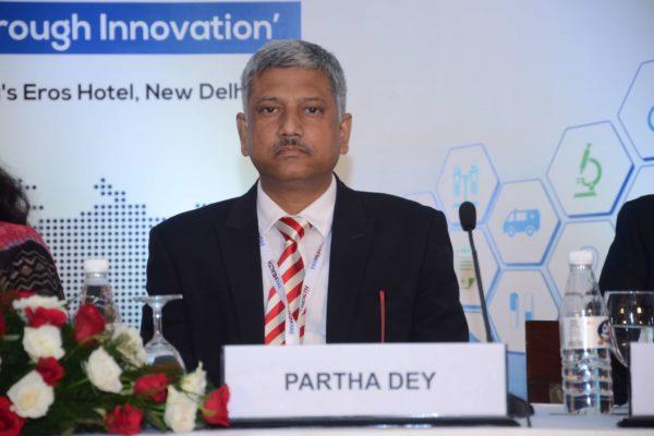 Session 1 speaker Partha Dey at InnoHEALTH 2017