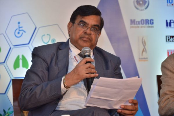 Dr Vinod Nikhra sharing his views on Session 6 Innovations in the Pharma sector at InnoHEALTH 2017