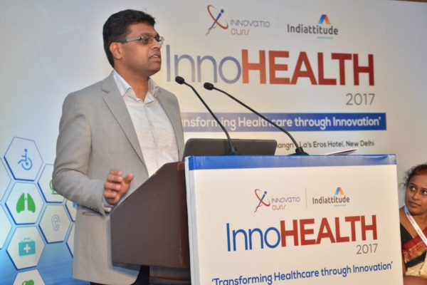 Pavan Asalapuram pitching EMPE Diagnostics at InnoHEALTH 2017