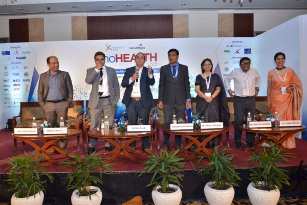 Sachin Gaur interacting and engaging the audience at InnoHEALTH 2017