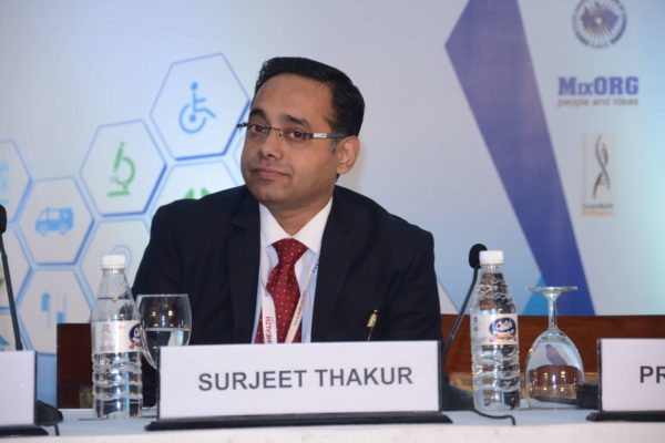 Session 1 speaker Surjeet Thakur at InnoHEALTH 2017