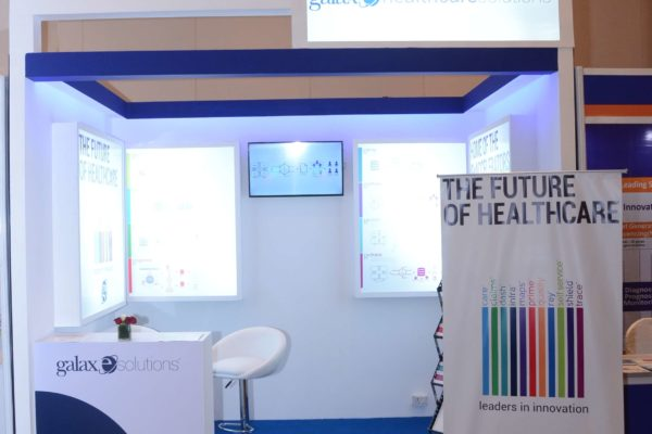 GalaXe healthcare solutions booth at InnoHEALTH 2017
