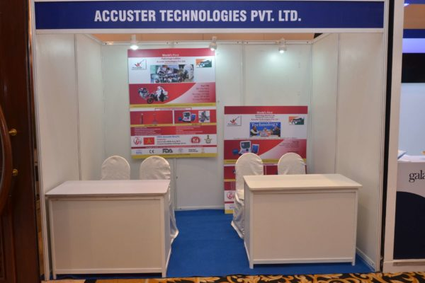 Accuster technologies booth at InnoHEALTH 2017.JPG