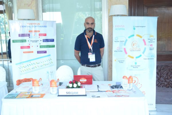 Eventus(Sidqam) booth at InnoHEALTH 2017