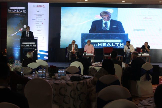 13. H.E Klas Molin, Guest of honor at InnoHEALTH 2018 shares his views in the inaugural session