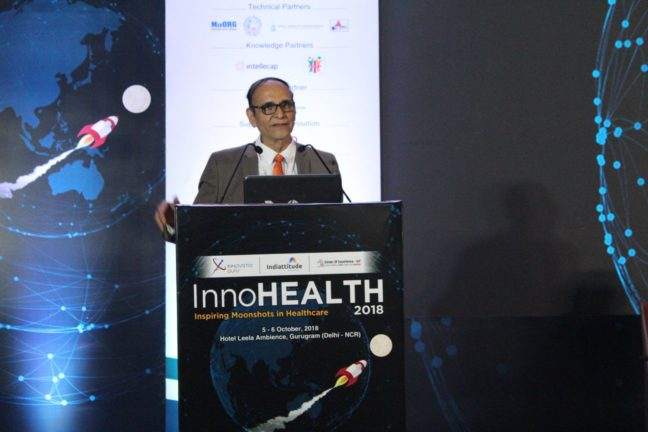 2. Dr V K Singh sets the tone at the inaugural session of InnoHEALTH 2018