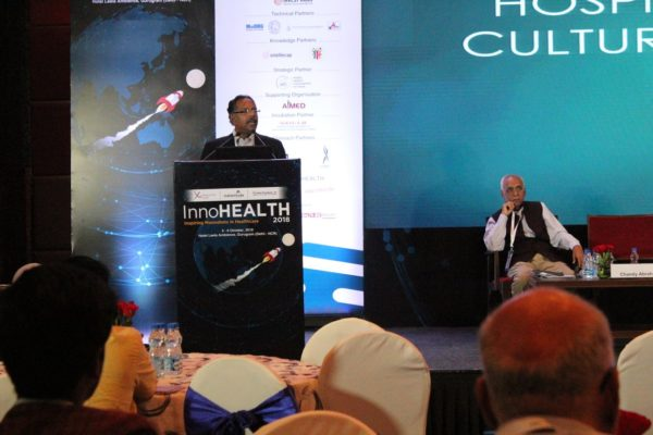 3. Chandy Abraham from ITC Limited speaks at InnoHEALTH 2018 session for Innovations in hospitals