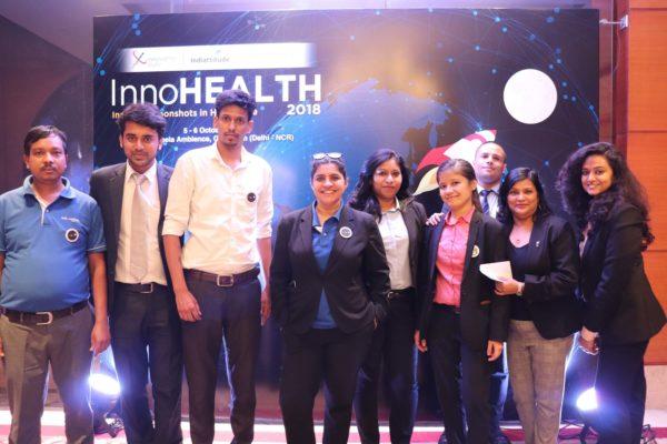 4. Indiattitude team at InnoHEALTH 2018