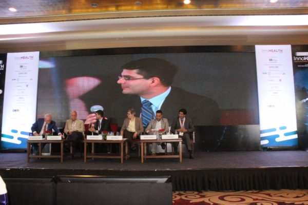 7. Achieving universal health coverage, insurance led innovations and AYUSH session in progress at InnoHEALTH 2018