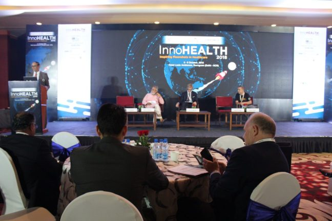 7. Inaugural session of InnoHEALTH 2018 in progress