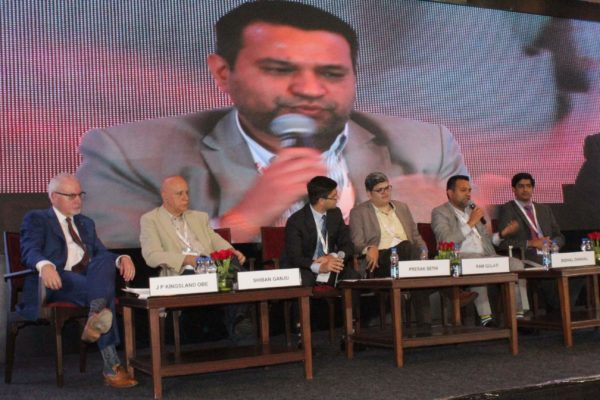 9. Achieving universal health coverage, insurance led innovations and AYUSH session in progress at InnoHEALTH 2018