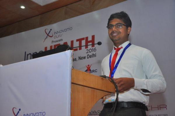 Participant at young innovators award 2016-2