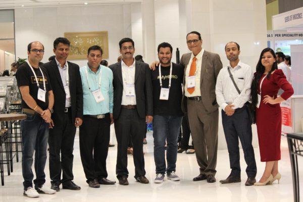 Alok Chaudhary, Saiprasad Poyarekar, Sanjay Gaur, Saurabh Gupta, Clarion Smith, Dr. VK Singh, Areez Malik and Parthvee Jain at InnoHEALTH 2019